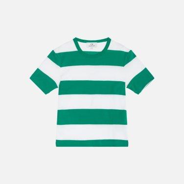 스트라이프 코튼 티셔츠 (VWMT1KK08AA0)