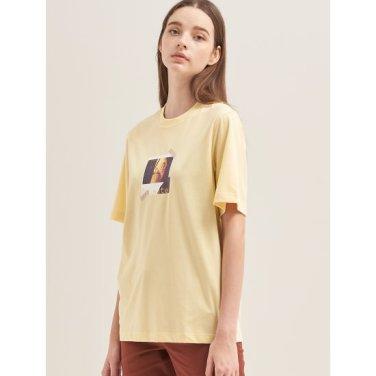 [30주년 Limited] 레몬 포토 콜라주 프린트 티셔츠 (BF9742N01F)