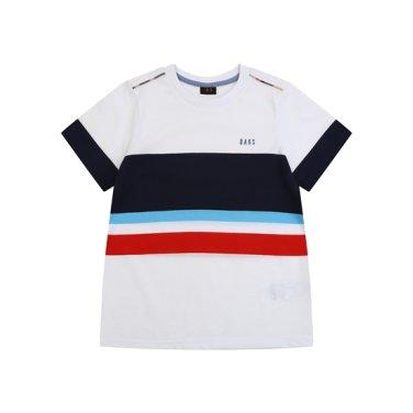 선염 R넥 티셔츠 DPM13TR21M