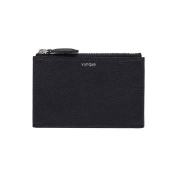 [vunque] Occam Zipper Card Wallet (오캄 지퍼 카드지갑) Black VQA91CW2041