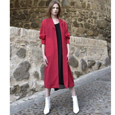 [아바몰리]6052 Monocell Robe (red)(AVA19SS27E)