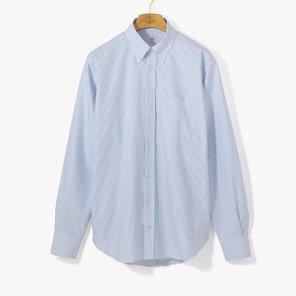 [TBRM]CLASSIC DRESS B.D SHIRT (STRIPE) SKY BLUE/TB92M40009A83