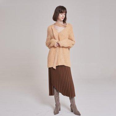 머플러 밀키오렌지 스웨터(PL9KN01)