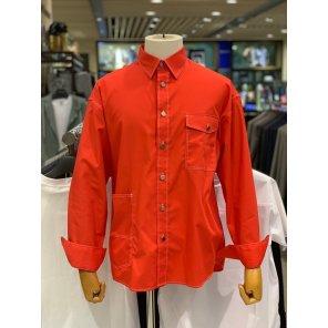 [CNN] 19SS 레드 스티치 스트릿무드 오버핏 캐주얼셔츠 LFS31221