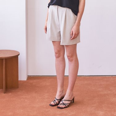 SOFT SHORT PANTS_BEIGE