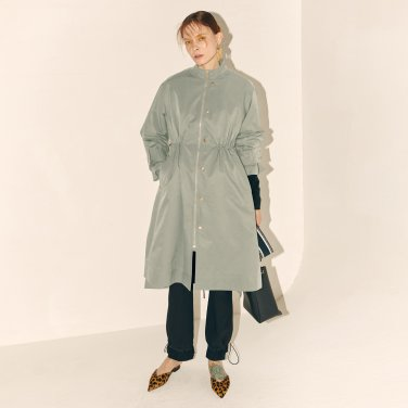 Manual Fur Lining Coat_Mint Gray (JC19FWTOU-03MG)