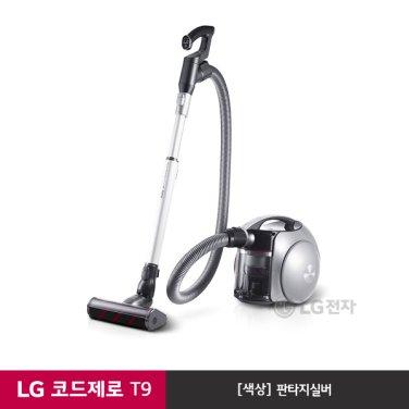 LG 코드제로 T9 무선 청소기 T950S (판타지실버/스마트인버터모터)