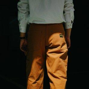 Stan Ray Double Knee Carpenter Pants 1170 Brown Duck