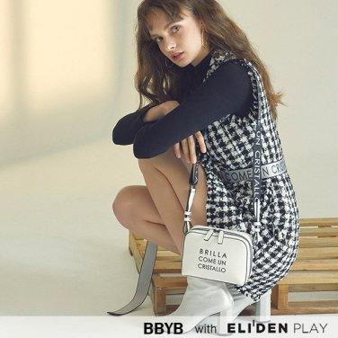 [비비와이비][차오루,정채연 착용] BBYB MARCE Mini Bag (Titanium White) (09I3210B3H)