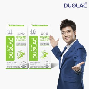듀오락 비타민B복합 프로바이오틱스 2통(60일분)