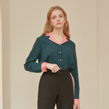 SATIN COLOR SHIRTS_GREEN