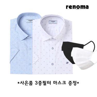 레노마셔츠 반소매슬림핏4종(사은품증정)