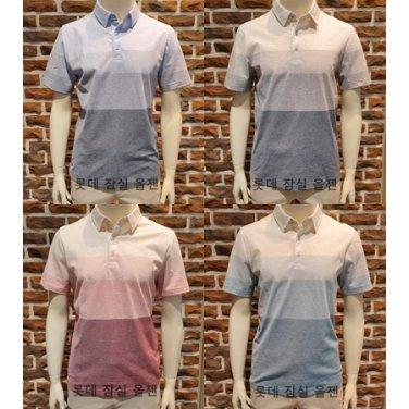 컬러 블록 카라 티셔츠 ZPZ2TT1503