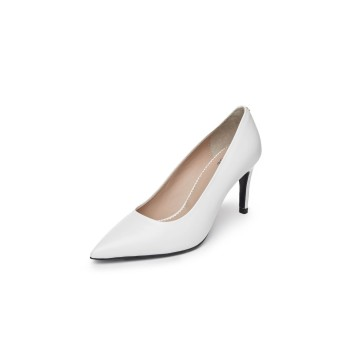 Pointed toe pumps(white)DG1BX20001WHT