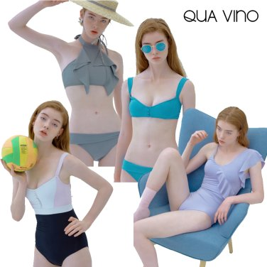 [쿠아비노] 아름다운 풀사이드 라이프, 연예인 스윔웨어 브랜드