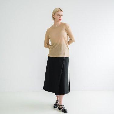 Tencel Long Sleeve Tshirts Beige(BSTS320_04)