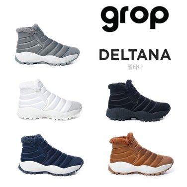 GROP Deltana (델타나) SHSH907(행사5종) 여성 방한 패딩 부츠