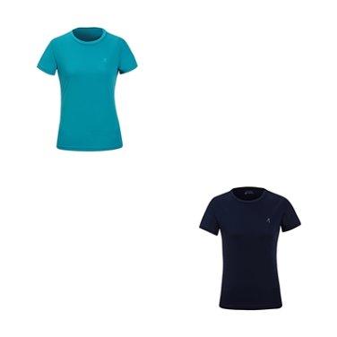 여성 기본 냉감 반팔 티셔츠 WH2WCCT752