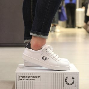 FRED PERRY B721 Leather(100) SFPU1817211-100