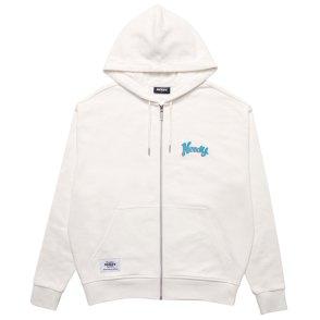 남녀공용 Hooded Zip-up Cream (21067_CR)