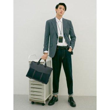 (남) 네이비 원더 서류가방 (BE92D2T01R)