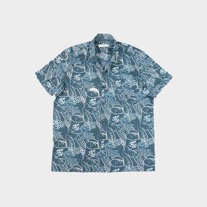 조선 레트로 알로하 셔츠