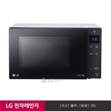 LG 스마트 인버터 전자레인지 MW22CD (블랙/빌트인핸들)