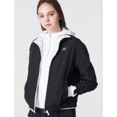 블랙 여성 로고 리버시블 재킷 (BO9239C075)