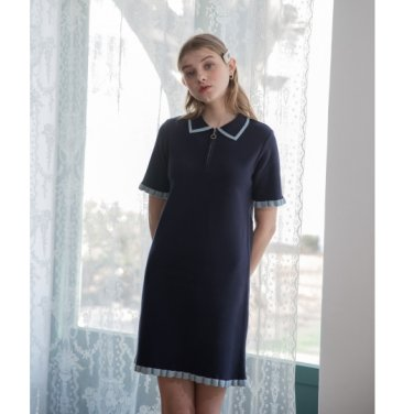 [클렛]Frill Knit Dress 3종(2019CLETSS19E)