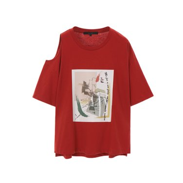 언발란스 그래픽 티셔츠(NW9ME360)