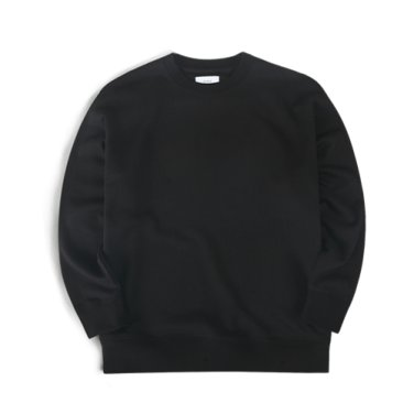 19FW 오버핏 맨투맨 (블랙)