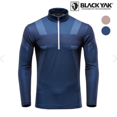 이월상품 남성 익스트림 반집업 티셔츠 B3XR9티셔츠-1