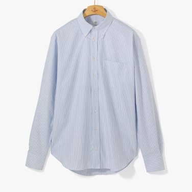 [TBRM]CLASSIC DRESS B.D SHIRT (STRIPE) LIGHT BLUE/TB92M40009A84
