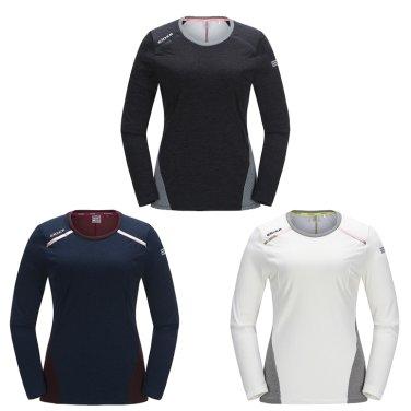 REDIN(레딘) 여성 라운드 티셔츠 / 등산티,긴팔티 (DWW17232)