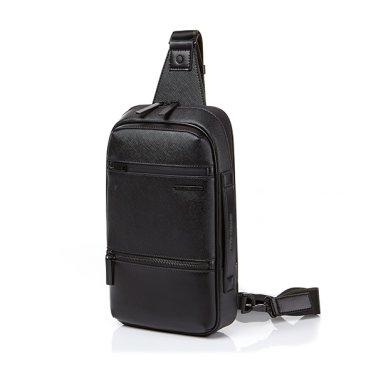 ★구매시 USB케이블 증정★ HANFOI SLING BAG BLACK DO009003