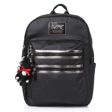 하드 코팅 원단의 심플한 라운드형 아동 가방 [BK라비오스]