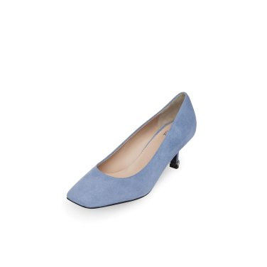 Unbalance square toe pumps(blue) DG1BX20004BLU / 블루