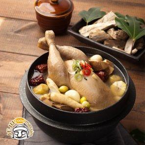 [혼디모아] 제주 황칠삼계탕 900g x 4팩 (황칠나무추출물, 국내산 닭, HACCP)