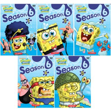 [DVD] SpongeBob SquarePants (보글보글 스폰지밥) Season 6