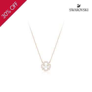 Sparkling Dance Flower 로즈골드 네크리스 5408437