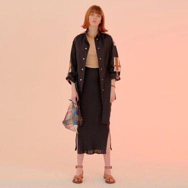 Salang Skirt Slit_Black (JC20SSSK27BKS)
