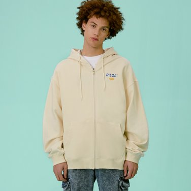 [RLOL] (HZ-20101) RLOL HOOD ZIP-UP IVORY