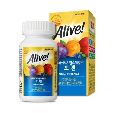 얼라이브 포맨 60정 / 2개월분