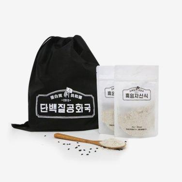 단백질 공화국 흑임자 선식(25g*30팩) / 무료배송