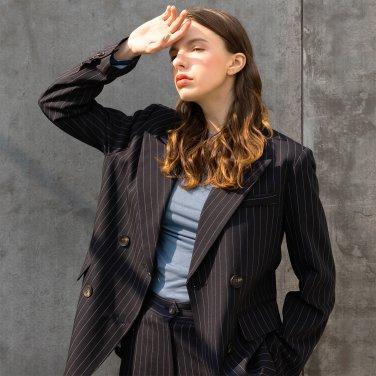 Cuffs Stitch Double Stripe Jacket(2019SSJK320_01)