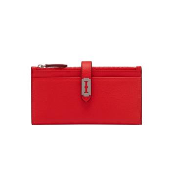 [vunque] Magpie Long Wallet (맥파이 장지갑) Clear Red_VQB01WL1011