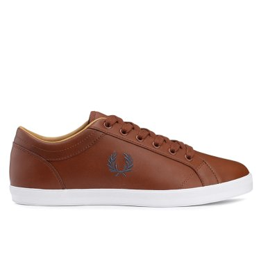 FRED PERRY 남성 베이스라인레더 Baseline Leather(448) SFPM1833058-448