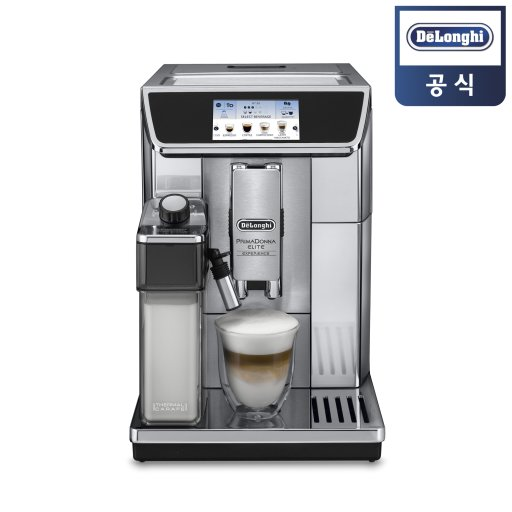 드롱기 전자동 에스프레소 커피머신 KRECAM650.85.MS /프리마돈나 엘리트