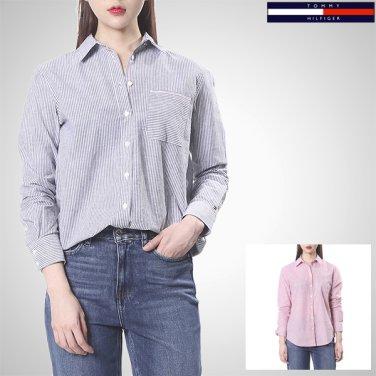 TFMT1HCE64A0(면 혼방 스트라이프 셔츠)