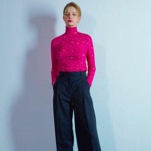 Flower inner t-shirt 003 Pink